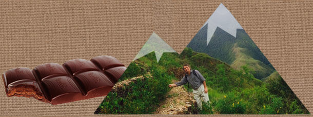 Walking the Andes to turn chocolate into Medicine
